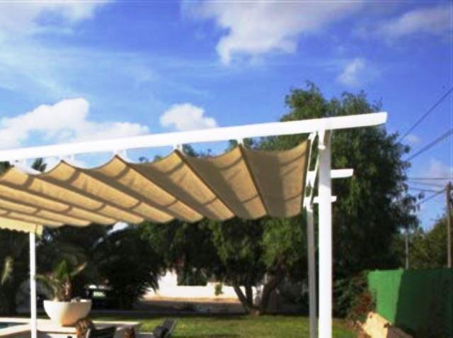 Carpas para patios estupenda pergola diseo moderno torcido carpas para patios verano variante - Carpas y pergolas ...