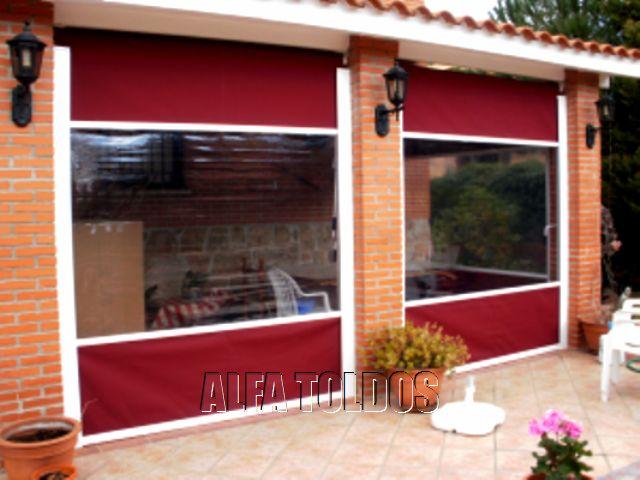 Cerramientos de terrazas bares y restaurantes for Toldos verticales para terrazas