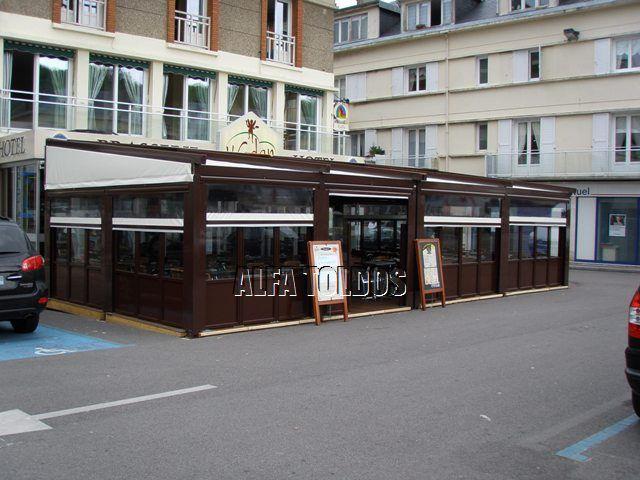 Cerramientos de terrazas bares y restaurantes - Toldos terrazas bares ...