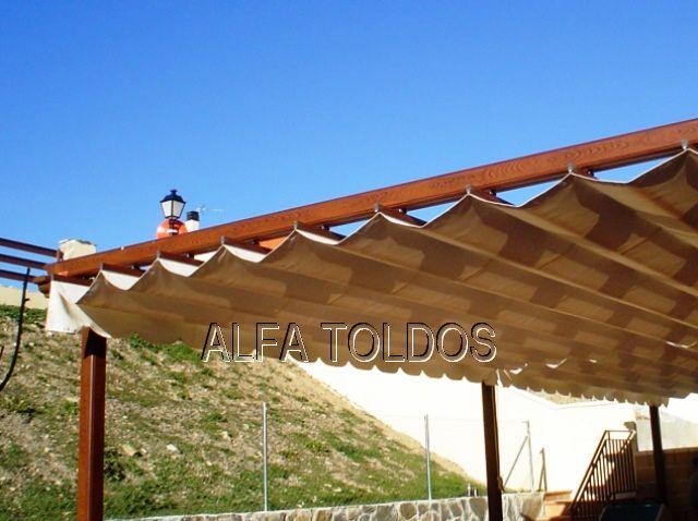 Alfa toldos villalba madrid toldos p rgolas capotas - Pergolas en aluminio ...