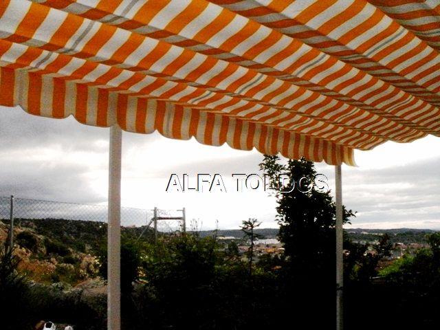 Alfa toldos villalba madrid toldos p rgolas capotas for Barras de aluminio para toldos