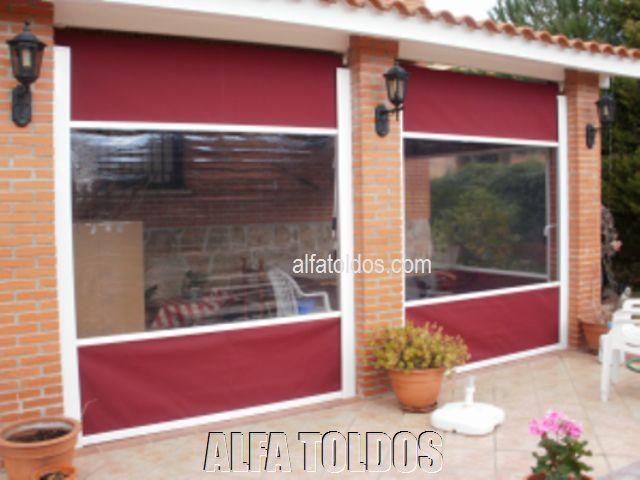 Alfa toldos villalba madrid toldos p rgolas capotas for Guias para toldos verticales