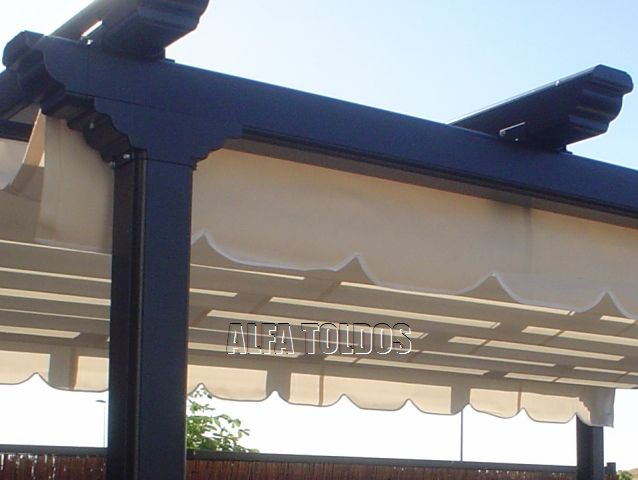 Perfiles aluminio para pergolas cool interesting coberti for Estructura de aluminio para toldo