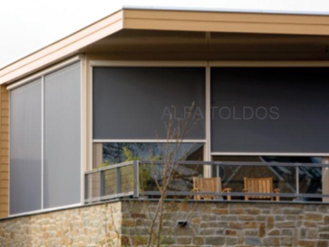 Toldos verticales para exterior toldo vertical manual - Toldos para exterior ...