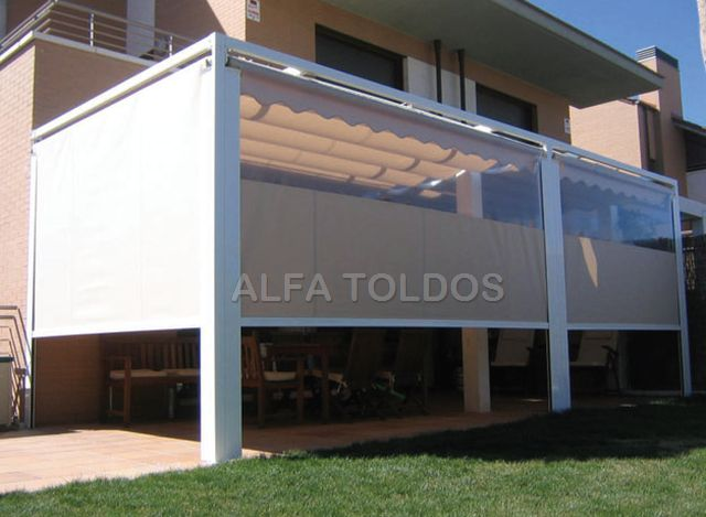 Ampliar for Toldos para galerias