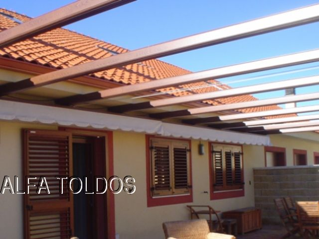 Perfiles de aluminio para pergolas affordable pergo with for Perfiles para toldos