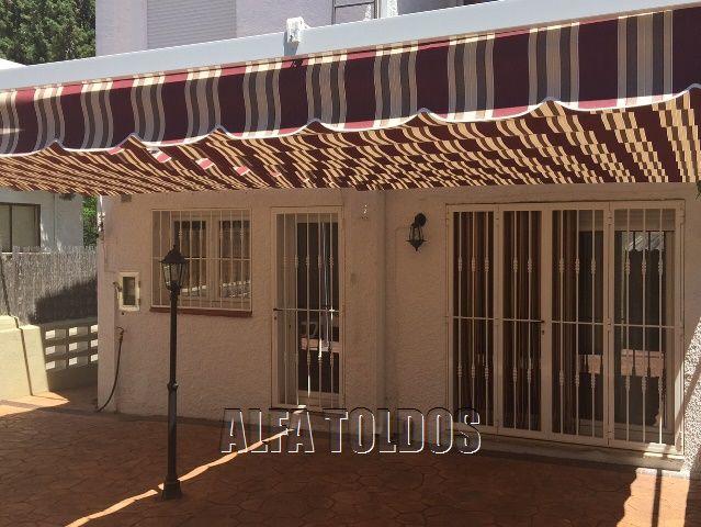 Anillas para toldos correderos top kit tejadillo para for Perfiles para toldos correderos